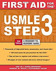 First Aid for the USMLE Step 3, Second Edition (First Aid USMLE) by Tao Le (2007-12-01)