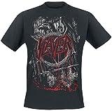 Slayer Dripping Eagle T-Shirt schwarz L