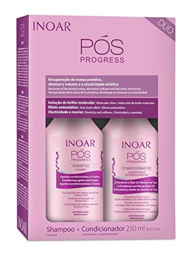 INOAR Duo POS Progress Shampoo and Conditioner Kit 250 ml