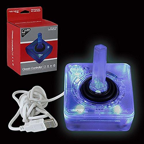 retro-bit-pc-753-stile-atari-cablato-usb-controller-per-pc-e-mac-blue