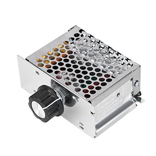 Regulador de La Velocidad, Controlador de Tensión, de Aluminio Y Acero Inoxidable,...