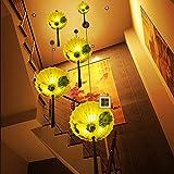 Chinesischer Regenschirm-Leuchter-kreativer Stoff Chinesische Sonnenschirm-Lampe Retro-heißer Topf-Restaurant-Teeraum-Restaurant-Restaurant-Laterne