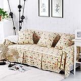 KongEU Housse de canapé Lavable en Machine - Protège Meubles élégant, Anti-dérapant Lavable en Machine - Serviette de canapé - 4 Seater - 215 * 350cm - Style-4