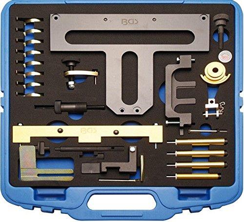 BGS 62617 Motor-Einstellwerkzeugsatz für BMW Benzinmotoren, 26-TLG