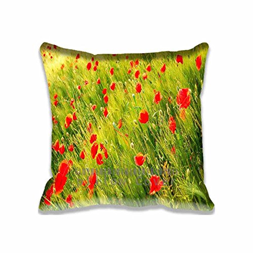 poppy-field-pillow-case-taies-doreillers-printed-cute-seasons-pillow-shams-comforter-bedroom-living-
