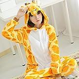 Pyjama de combinaison Grenouillère Soirée de Déguisement Pyjama Cosplay Costume Adulte Enfant Animaux Faon