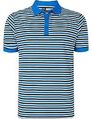 Callaway Mens Chev Striped Polo Shirt 2015