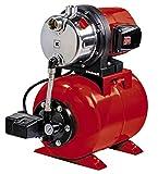 Einhell - Pompa da giardino GC-WW 1046 N (1050 W, portata massima 4600 l/h Portata, max. Pressione di mandata 4,8 bar, interruttore a pressione, manometro, contenitore da 20 l)