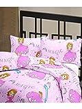 eCraftIndia Magic Design Kids Single Bed...