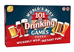 Idea Regalo - Cheatwell 05232 - 101 Drinking Games [importato da UK]