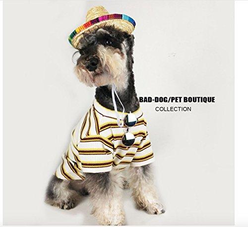 22047e24fcc3df BAD DOG Cute Summer Pineapple T-Shirt – Dog Fashion/Ananas Mignon T-
