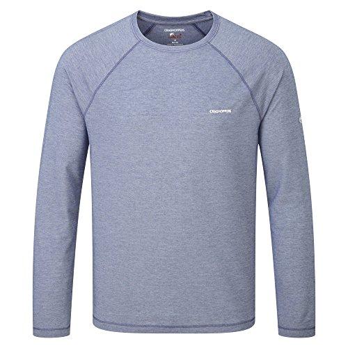 Craghoppers NosiLife Bayame Langarm Shirt Men - Longsleeve Rot