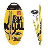 Mansi Creation Maybelline Colossal Kajal, Black, Pack of 3
