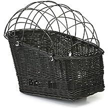 Beeztees cesto in vimini per portapacchi con cappuccio, 45x 23cm, colore: Blu/Nero
