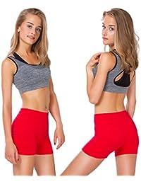 MITAAMI Short en Coton Super Soux pour Femme 303b1522c44