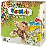 PlayMais - Mosaic Little Zoo, 2300 piezas, juego de manualidades (Loick Biowertstoff GmbH 22AH160180)