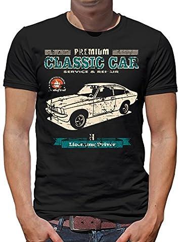 TLM Kadett C Coupe T-Shirt Herren L Schwarz