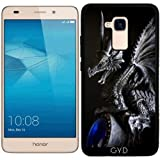 Coque Silicone pour Huawei Honor 5C - Dragon Tuteur by Warp9