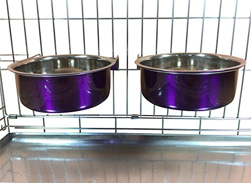 ellie-bo-pair-of-dog-bowls-for-crates-cages-or-pens-large-20-litre-purple
