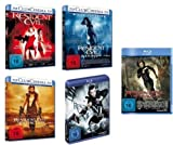 Resident Evil: Teil 1-5 [Blu-ray] im Set - Deutsche Originalware [5 Blu-rays]