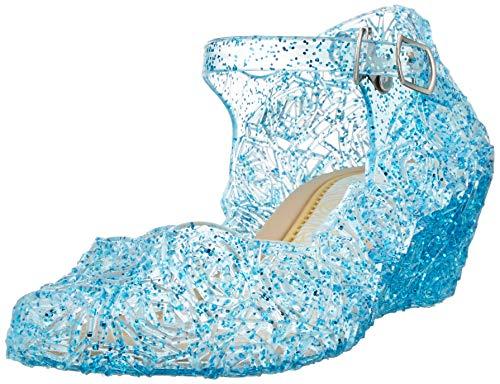 Little-peach l-peach principessa scarpe di cristallo per ragazze festa di compleanno halloween, blu, eu28/cn30 17,5cm