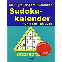 Abreißkalender Sudoku 2018