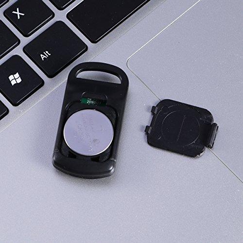 VORCOOL GPS Tracker Mini Wasserdichte Bluetooth Sensor für Kinder Haustier Auto Smartphone (Schwarz)