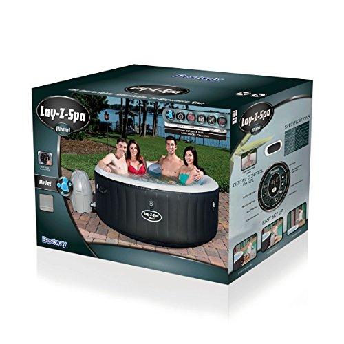 Bestway Lay-Z-Spa Miami Whirlpool, 180 x 66 cm - 4