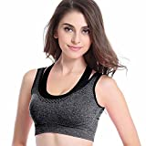 Galani IndiaDeal Heavy Duty Cotton Sports Bra Women/Girl Padded Bra Free Size (30 to 36) (Removable Pad)