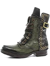 A.S.98 Botines Bajos Saintec 259204-102 Jungle Nero Airstep as98