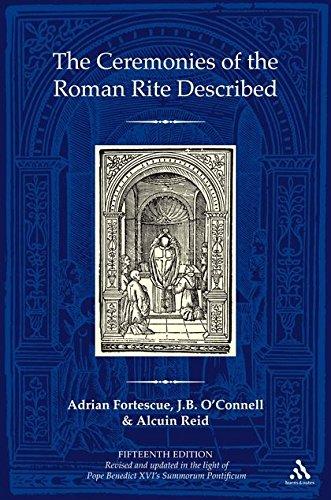 The Ceremonies of the Roman Rite Described por Adrian Fortescue