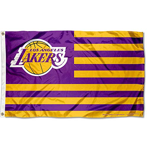 Wincraft Los Angeles Lakers Americana Streifen Nation 3 x 5 Flagge