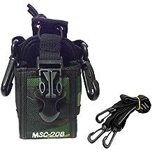 Buwico multifuncional universal Radio Protector Funda MSC-20B para Motorola Kenwood Baofeng Midland ICOM Yaesu radio de dos vías Walkie Talkie