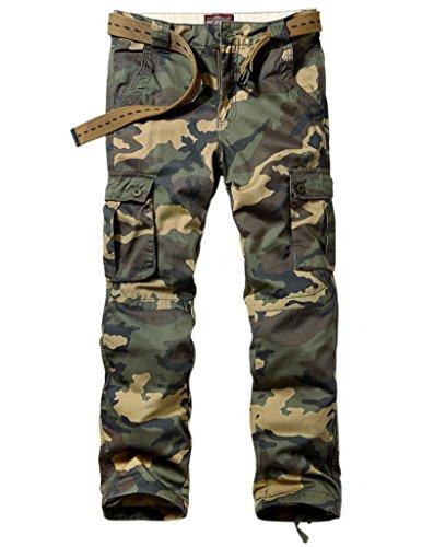 Match Pantalons Cargo pour Hommes #6531 6531 Kaki max(Khaki max)