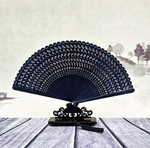 18cm reine Hand-Fan Kinder Bambusprodukte Handwerk Faltfächer B - Cherry Blossom Ärmel