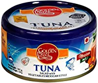 Golden Prize Tuna Salad with Vegetables Mexican Style, 185g