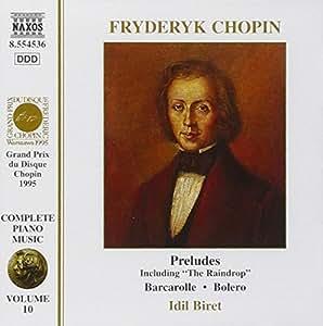 Das Klavierwerk Vol. 10 (Preludes / Barcarolle / Bolero)