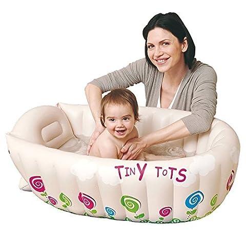 Gonflable Douche - Anokay Baignoire Gonflable Pour Enfant 0-4 ans,