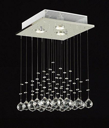 Saint Mossi® LED Moderno Contemporáneo Lámpara De Lluvia De Chucher