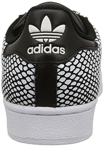 adidas Superstar Snake Pack, Baskets Basses Homme Noir (Core Black/Core Black/White)
