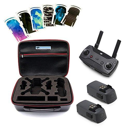 Preisvergleich Produktbild DS24 DJI Spark Erweiterungs COMBO KIT mit Remote 2x Akku Tasche und 6er Skin