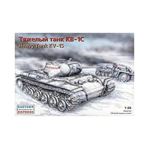 Arca Modelos ee351001: 35Escala kv-1s Ruso Tanque Pesado Modelo de plástico