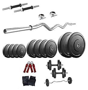 Body Maxx 78006 Rubber Home Gym Set