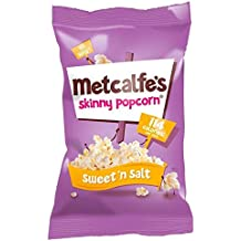 Metcalfe's Skinny Sweet & Salt Popcorn 25g
