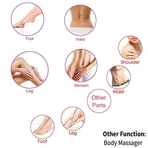 Gxma Mini elektronische Erschütterung Vibrator Massager zu Gesichts zervikalen Schulter Fuß und G-Punkt - 7