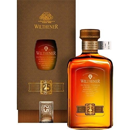 Wilthener Jubiläumsedition Weinbrand 25 Jahre 0,5 l