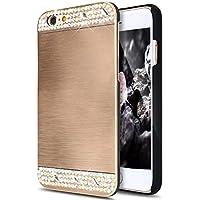 iPhone 8 Hülle,iPhone 7 Hülle,iPhone 7/8 Hülle Metall Glitzer,SainCat Hart Gebürstetes Metall Hülle für iPhone... preisvergleich bei billige-tabletten.eu