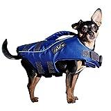 Elb Dog Hunde-Schwimmweste Blau Größe L | Kleine Hunde | Schwimmhilfe | Hunde-Rettungsweste | Schwimmtraining, Wassergewöhnung | Schwimmweste Rettungsweste Hund