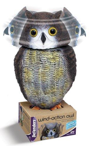 defenders-stv965-escultura-de-buho-para-espantar-palomas-se-mueve-con-el-viento