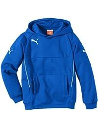Puma 653979 02, Felpa Unisex, Blu Royal/Bianco, M, bambini